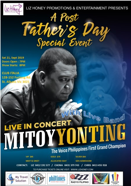 Event poster - Mitoy Yonting